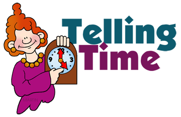 Telling Time Banner